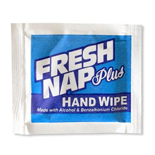 Kari-Out Fresh Nap Plus Sanitizing Hand Wipes w/Alcohol, 500/PK