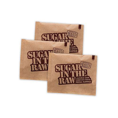 Sugar in the Raw RAWS, 0.17 Oz Turbinado Cane Sugar Packets, 1200/Cs