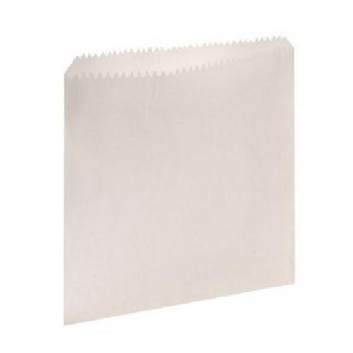 Bagcraft Papercorn SANB 6x6.75-Inch White Paper Sandwich Bag, 6000/CS