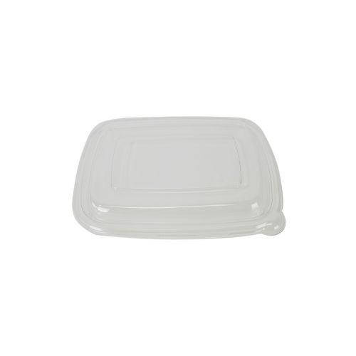 SafePro Eco SB1000L PET Clear Rectangular Lid for Fiber Trays (SB750, SB900-2, SB1000), 300/CS