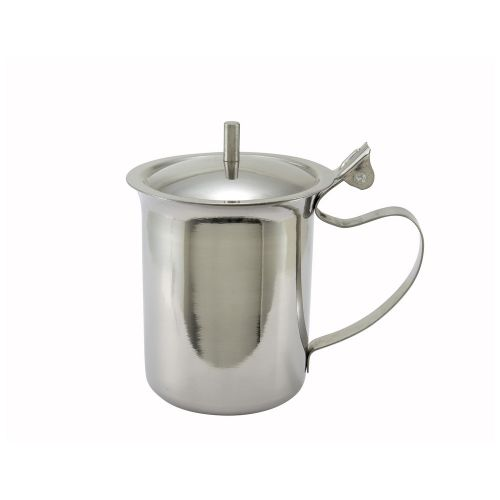 Winco SCT-10, 10-Ounce Stainless Steel Server/Creamer with Cover
