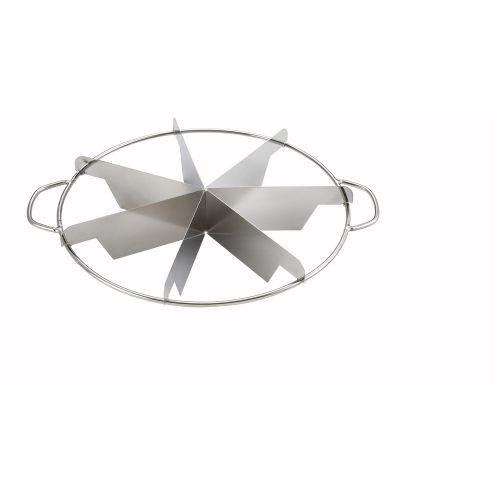 Winco SCU-7, Stainless Steel Pie Cutters, 7 cuts