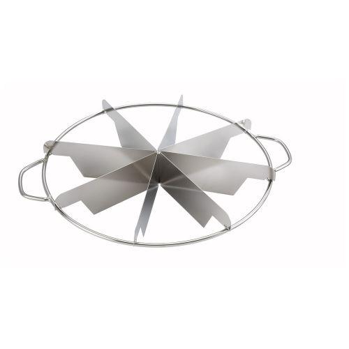 Winco SCU-8, Stainless Steel Pie Cutter, 8 Cuts
