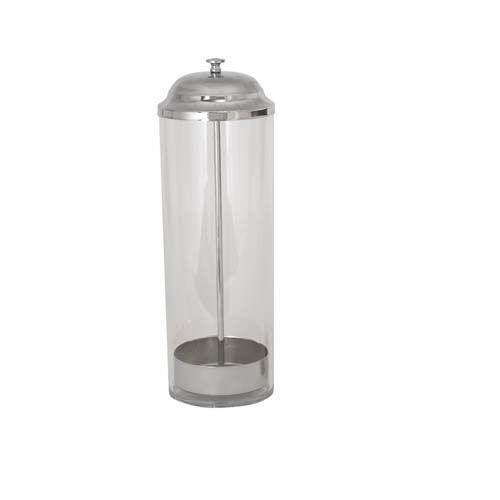 Winco SDP-3, 3.38-Inch Diameter 10.75-Inch High Straw Dispenser