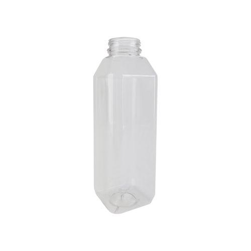 SJB16 16 Oz 7.5-Inch Clear PET Plastic Juice Bottle, 160/CS