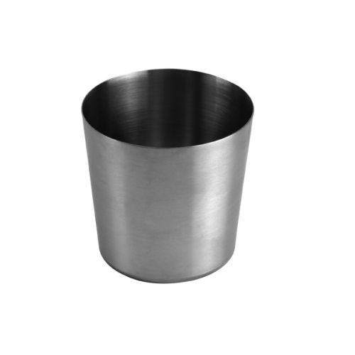 Thunder Group SLFFC001, 13-Ounce Stainless Steel Satin Finished French Fry Cup