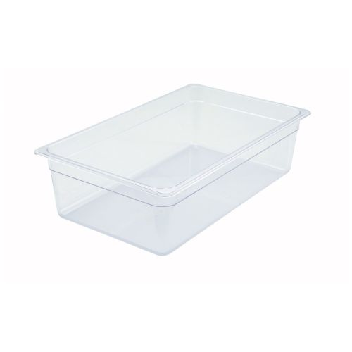 Winco SP7106, 6-Inch Deep Full-Size Polycarbonate Food Pan, NSF
