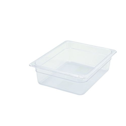 Winco SP7204, 4-Inch Deep Half-Size Polycarbonate Food Pan, NSF