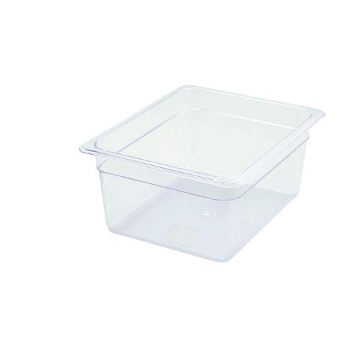 Winco SP7206, 6-Inch Deep Half-Size Polycarbonate Food Pan, NSF