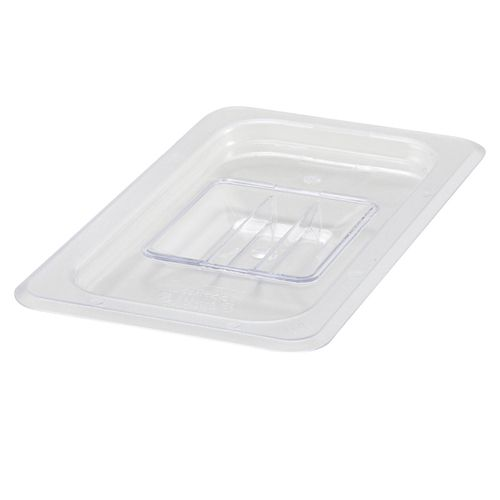 Winco SP7400S, One-Fourth Size Polycarbonate Food Pan Solid Cover, NSF