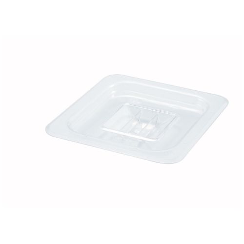 Winco SP7600S, One-Sixth Size Polycarbonate Food Pan Solid Cover, NSF