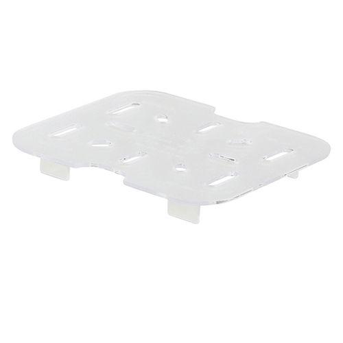 Winco SP76DS, One-Sixth Size Polycarbonate Drain Shelf, NSF