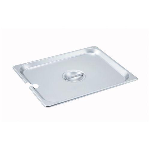 Winco SPCH, Half-Size Slotted Stainless Steel Steam Table Pan Cover, NSF