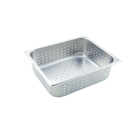 Winco SPJP-406 NSF 6-Inch Deep Quarter Size Anti-Jamming Steam Table Pan