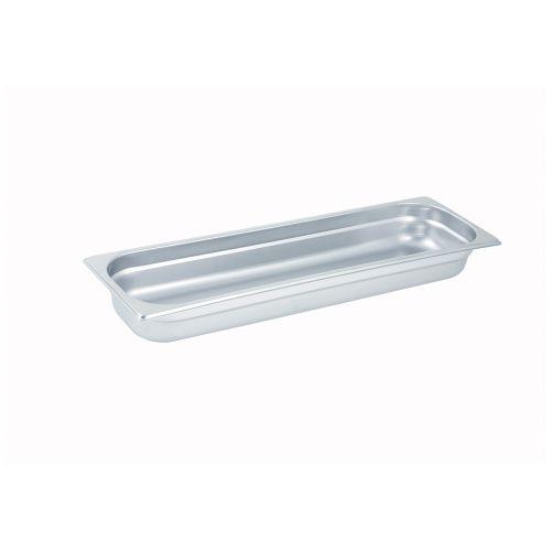 Winco SPJL-2HL, 2.5-Inch Deep, Half-Long Anti-Jamming Steam Table Pan, NSF