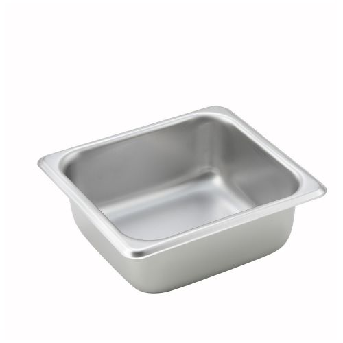 Winco SPS2, 2.5-Inch Deep, One-Sixth Size Steam Table Pan, NSF