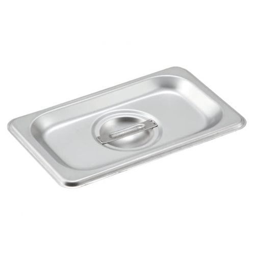 Winco SPSCN-GN, Stainless Steel Steam Pan Cover for SPJH-906G/N, Solid, NSF
