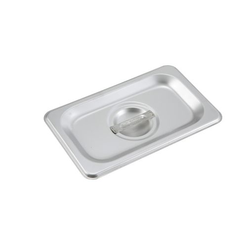 Winco SPSCN, One-Ninth Size Solid Stainless Steel Steam Table Pan Cover, NSF