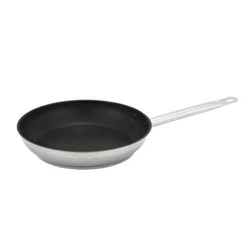 Winco SSFP-9NS, 9-Inch Non–Stick Stainless Steel Fry Pan, NSF