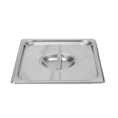 Thunder Group STPA7120C, Half Size Solid Cover for Steam Pan, Stainless Steel, Rectangular