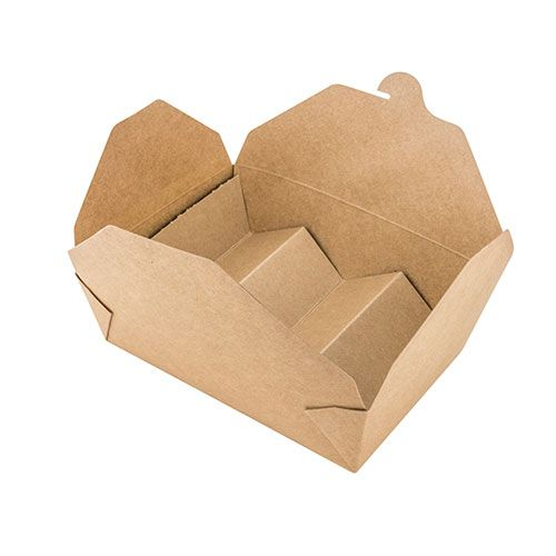 SafePro TACO0010 11-inch (Flat Length) x 6-inch (W) 2-3 Slots Craft Paper Taco Inset for SB03 Take-out Container, 600/CS