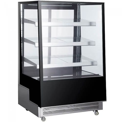 Marchia TMB36 36-inch Floor Model Slanted Glass High Refrigerated Display, Tall