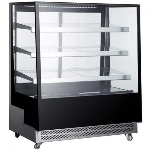 Marchia TMB48 48-inch Floor Model Slanted Glass High Refrigerated Display, Tall