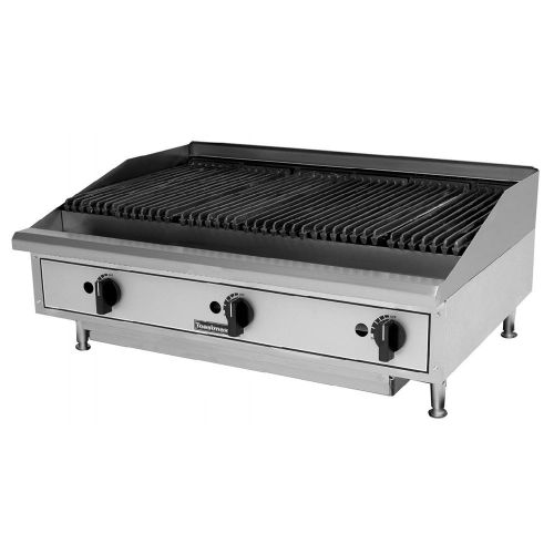 Toastmaster TMRC36, 36-Inch Countertop Radiant Gas Charbroiler, UL