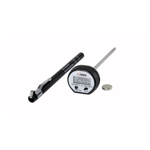 Winco TMT-DG1, Digital Pocket Thermometer with Case
