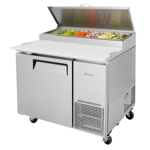Turbo Air TPR-44SD-N 1 Solid Door Pizza Prep.Table