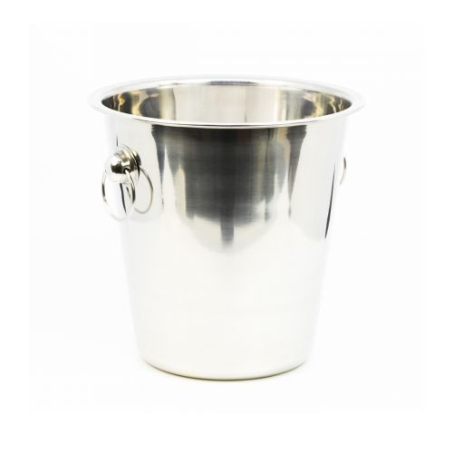 Winco WB-4, 4-Quart Stainless Steel Wine Bucket