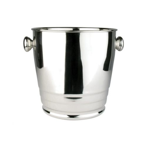 Winco WB-4HV, 4-Quart Heavy Stainless Steel Wine Bucket with Ribs