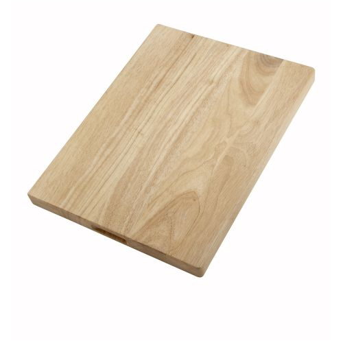 Winco WCB-1218, 12x18-Inch Wood Cutting Board, EA