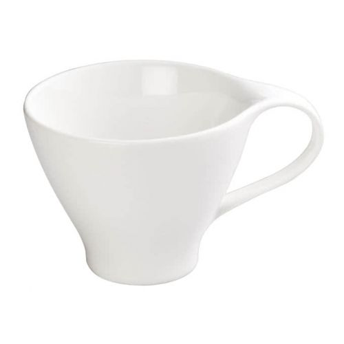 Winco WDP004-214, 3-1/2-Inch Dia Ardesia Ocea Porcelain Coffee Cup, Creamy White, 36/CS