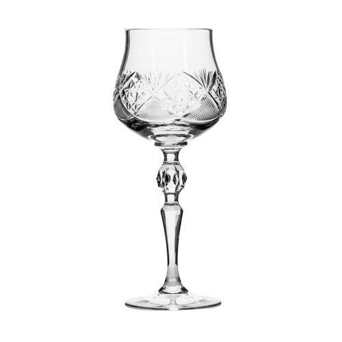 Neman Crystal WG7841-X, 2-Ounce Crystal Liquor Glasses, 6-Piece Set