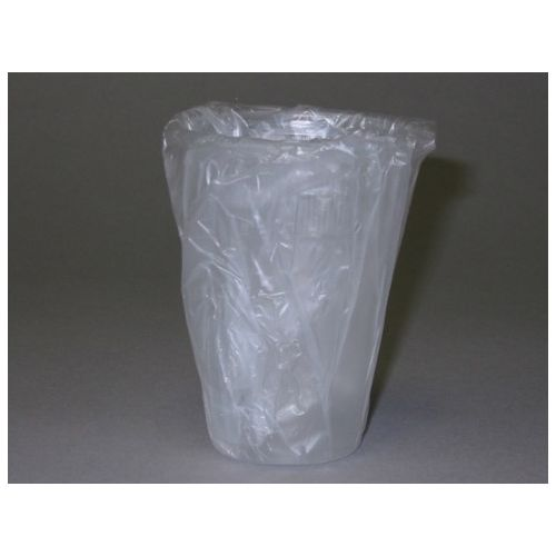 AP0900W 9 oz Plastic Individually Wrapped Translucent Lodging Cup, 1000/CS