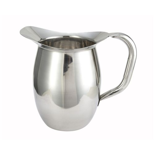 Winco WPB-2, 2-Quart Stainless Steel Deluxe Bell Pitcher