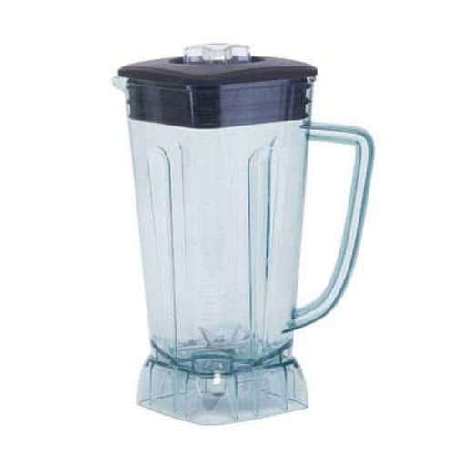 Winco XLB1000P11, 68 oz 6-1/4L x 6-5/8W x 11-1/2H-Inch Replacement Plastic Pitcher for XLB-1000