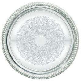 Winco OPL-20 20x13.75-Inch Heavy Stainless Steel Oval Platter