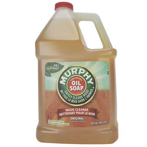 Murphy 101103-X 1-Gallon Concentrated Oil Soap Wood Cleaner, EA