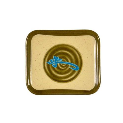 Thunder Group 1202J 5 1/2 x 4 3/4 Inch Asian Wei Melamine Rectangular Plate, DZ