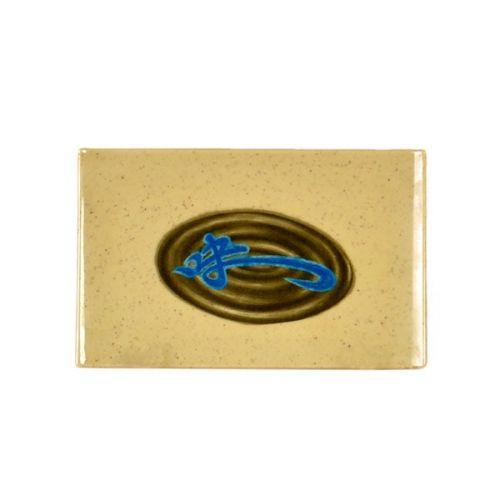 Thunder Group 1535J 5 1/5 x 3 1/4 Inch Asian Wei Melamine Rectangular Plate, DZ