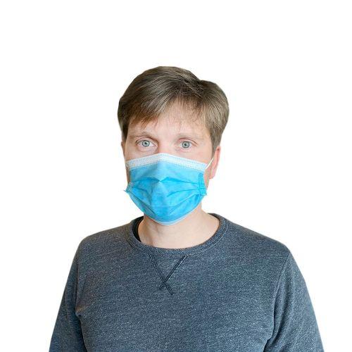 FMASK Earloop Face Mask, 50/PK