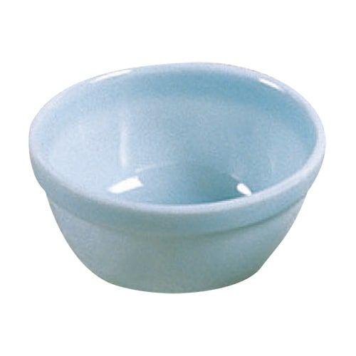 Thunder Group 1945 10 Oz 4 1/2 Inch Diameter Asian Blue Jade Melamine Round Bowl, DZ