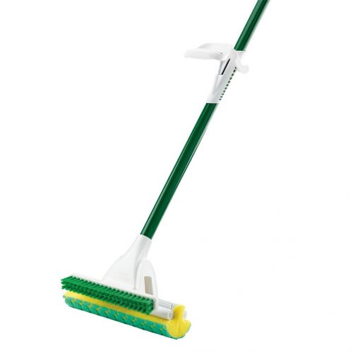 Libman 2010, Nitty Gritty Roller Sponge Mop with Scrub Brush