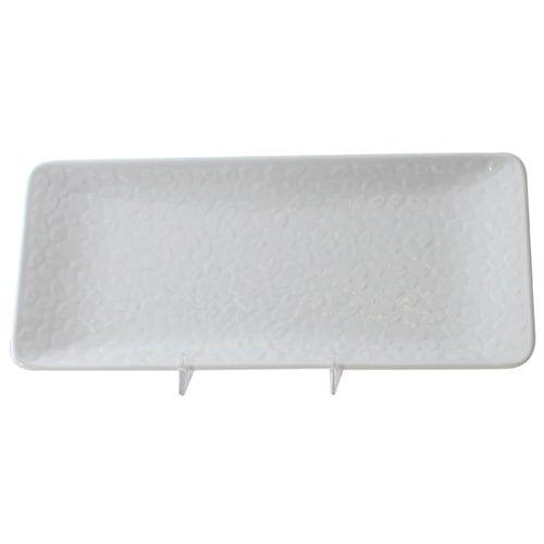 Thunder Group 24110WT 11 1/4 x 5 Inch Western Classic White Melamine Rectangular Plate, DZ