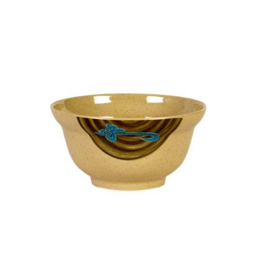Thunder Group 3201J 20 Oz 5 3/4 Inch Asian Wei Melamine Round Noodle Bowl (Lid Sold Separately), DZ