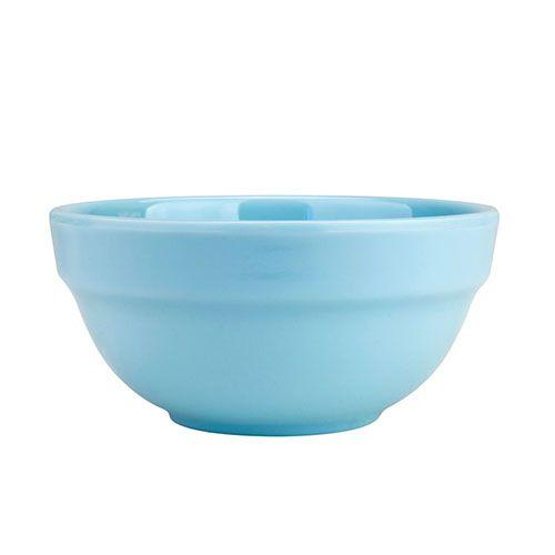 Thunder Group 5904 7 Oz 4 Inch Diameter Asian Blue Jade Melamine Bowl, DZ