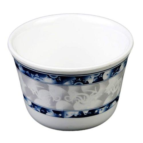 Thunder Group 9152DL 5 Oz 3 1/8 Inch Diameter Asian Blue Dragon Melamine Tea Cup, DZ