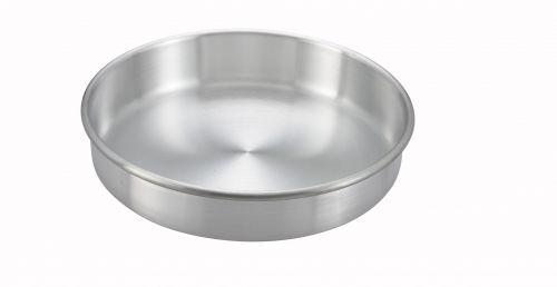 Winco ACP-102, 10x2-Inch Aluminum Layer Cake Pan